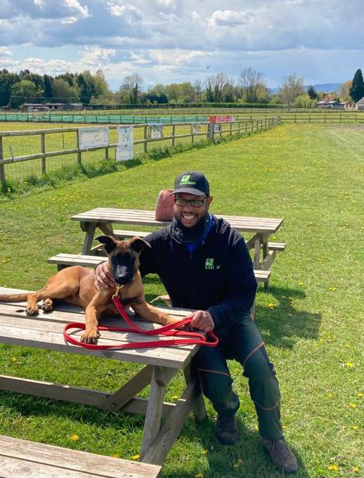 Mo & Bart (Malinois Puppy) at Vislor Dog Training Center