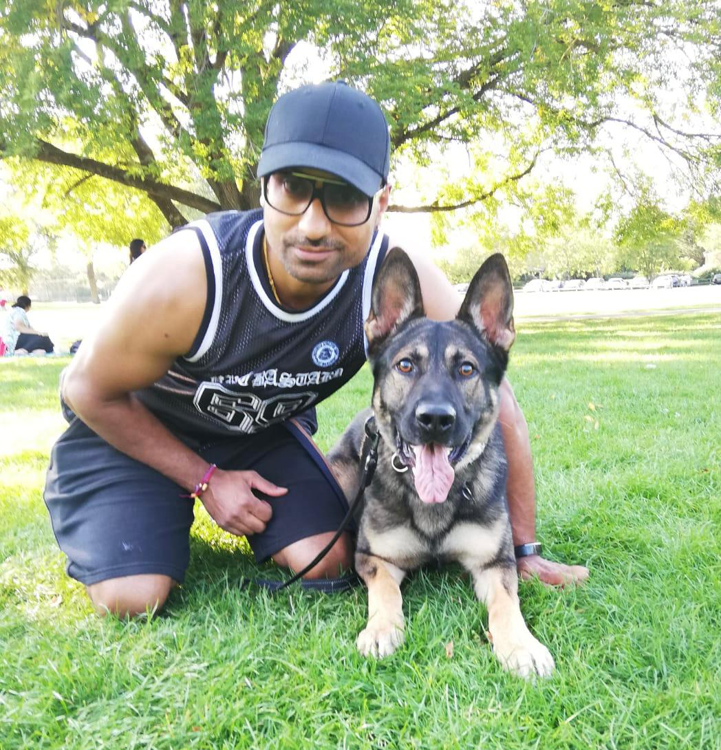 Diviash Anand Vislor Dog Sport Training