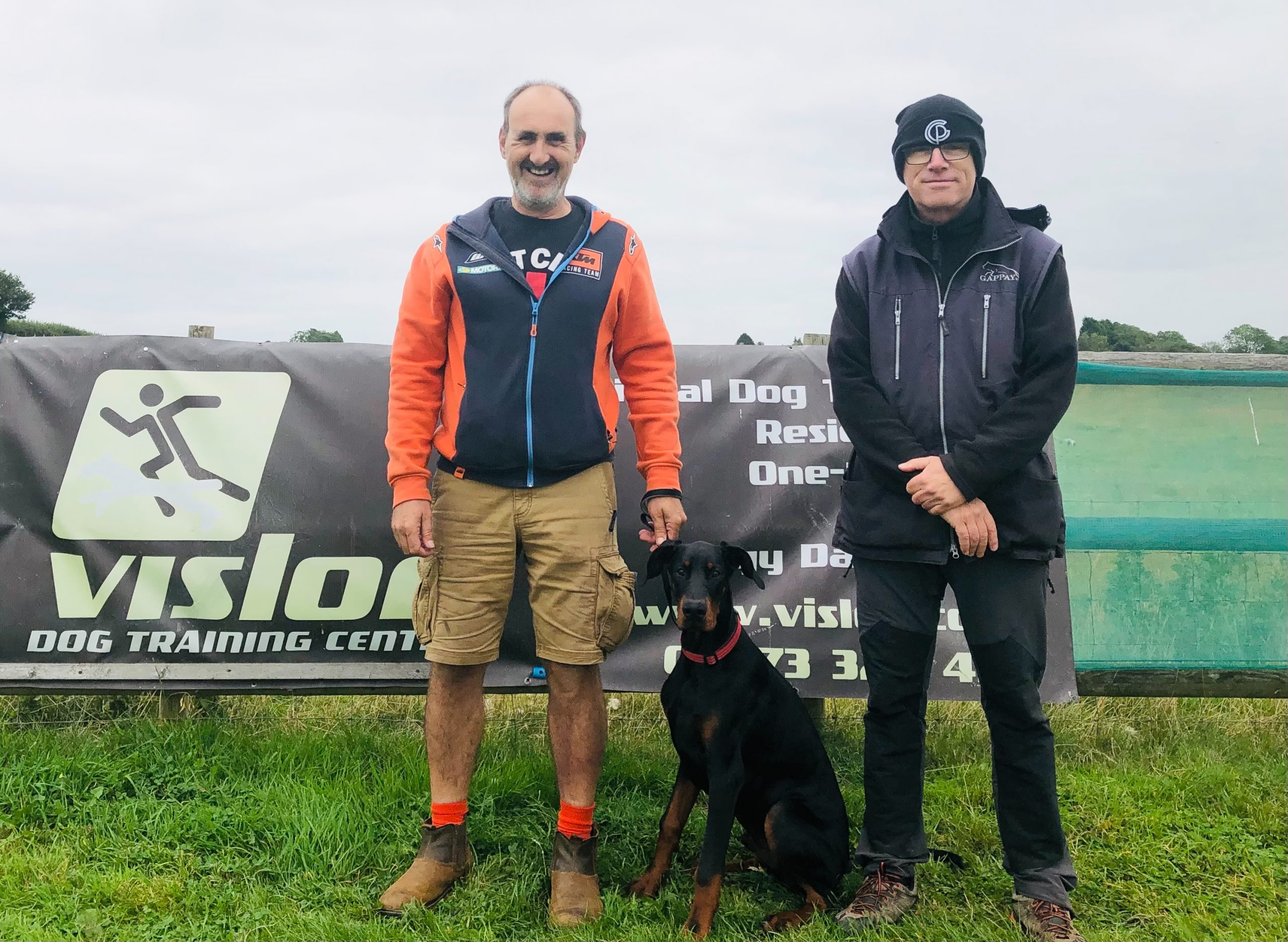 Richard Mileson & his dog Henry One to One Dog Training at Vislor- West Midlands